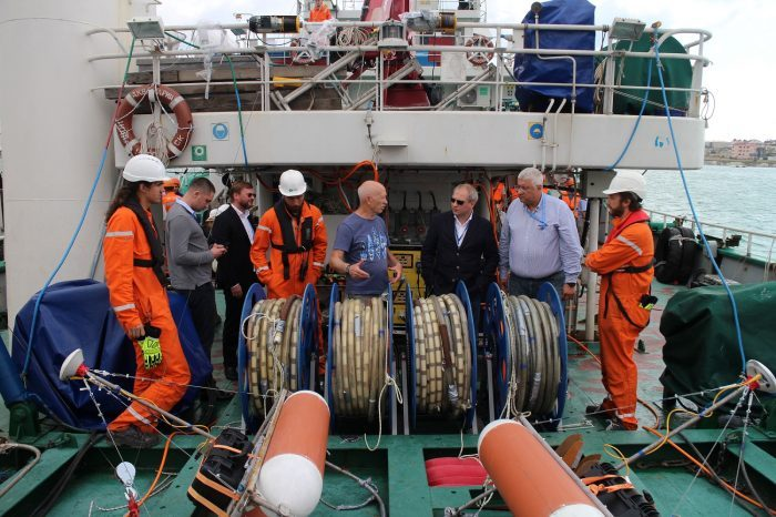 SplitMultiseis 3D seismic complex test run took place in Gelendgik