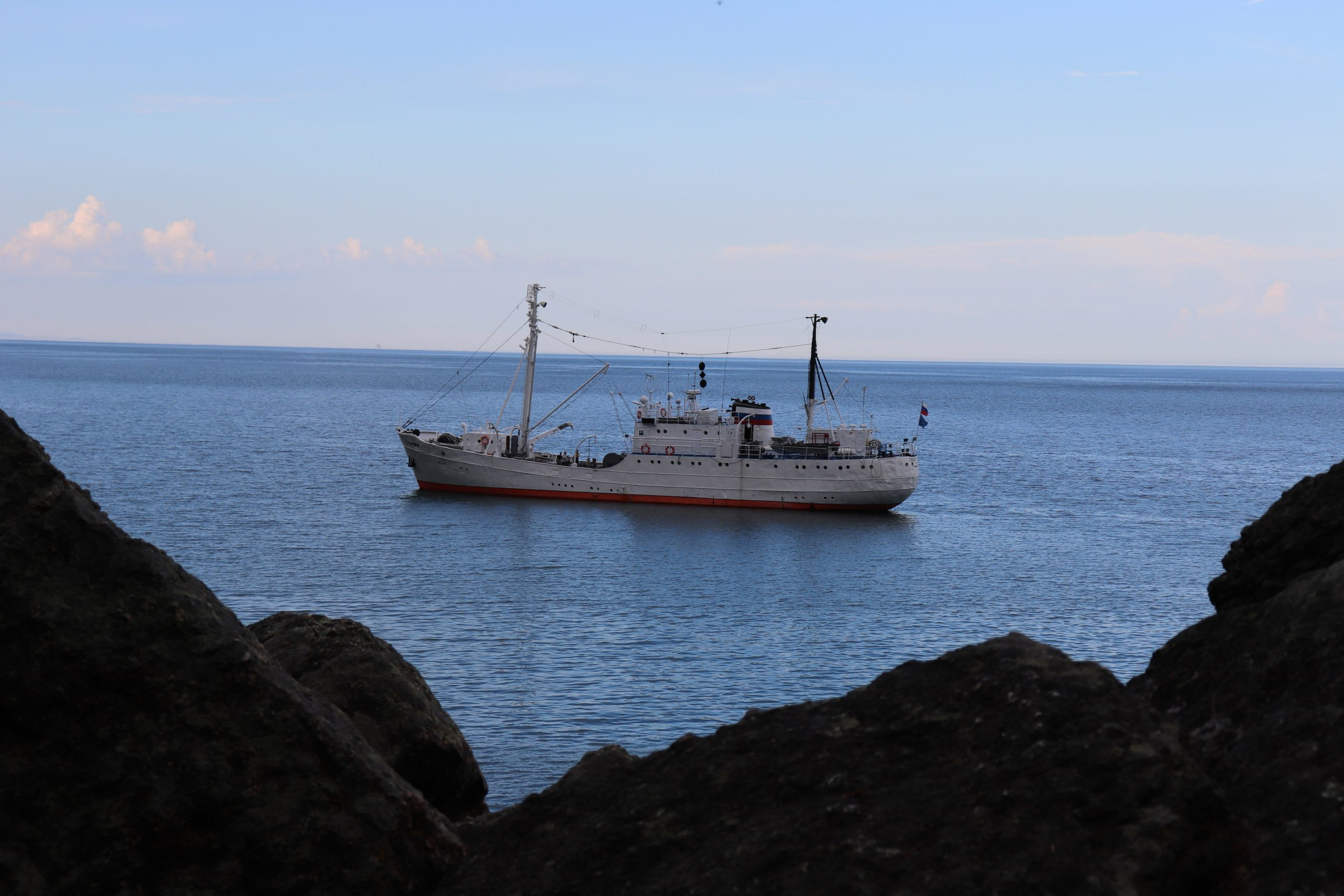 A research cruise on Lake Baikal with CEED will be in 2021
